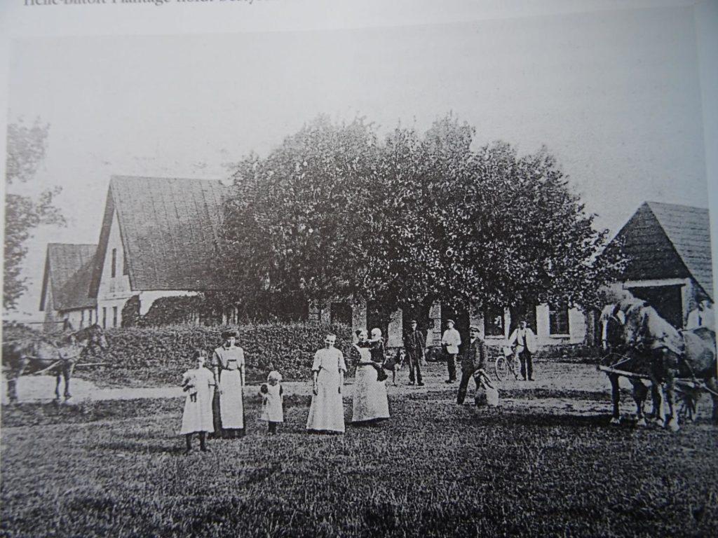 Øse Kro ca. 1900, nedlagt 1960.